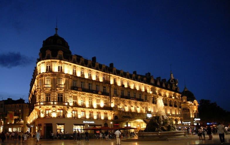 Vous déplacer de nuit à Montpellier avec chauffeur privé VTC
